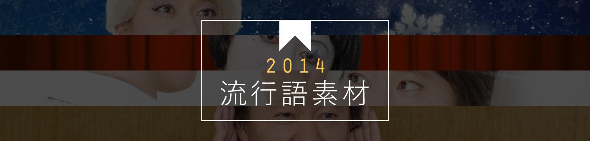 2014年 流行語素材